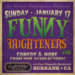 Funny Frighteners Stand-Up Flyer