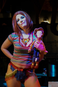 Chucky and Woody