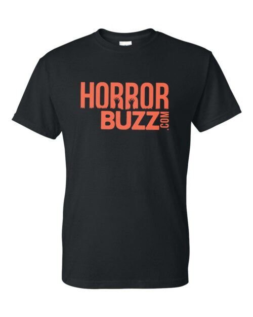 HorrorBuzz Logo T Shirt