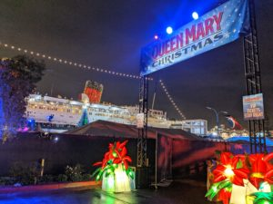 Queen Mary Christmas entrance