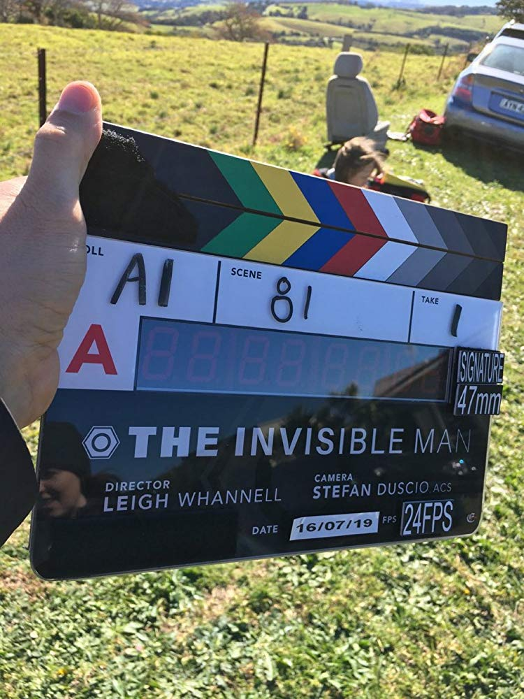 Leigh Whannell, The Invisible Man marker