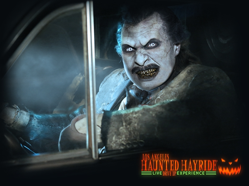 LOS ANGELES HAUNTED HAYRIDE Announces Drive-Up Haunt for 2020