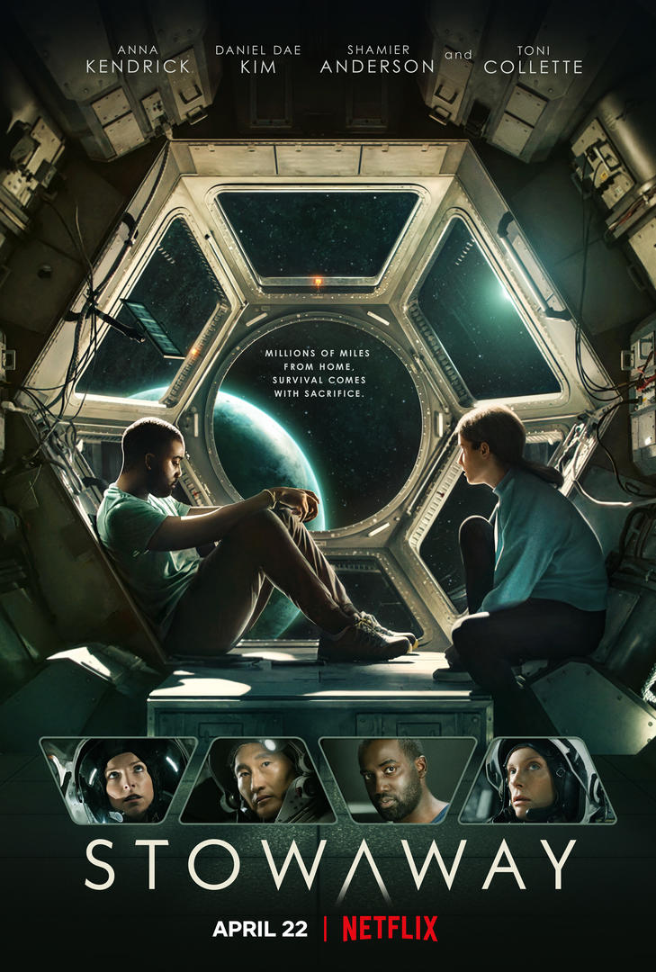 Netflix's STOWAWAY Official Trailer and Poster Revealed