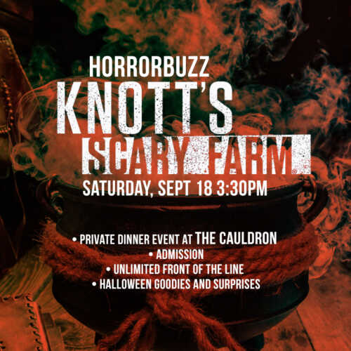HorrorBuzz Knott's Scary Farm Passport to Fear Event
